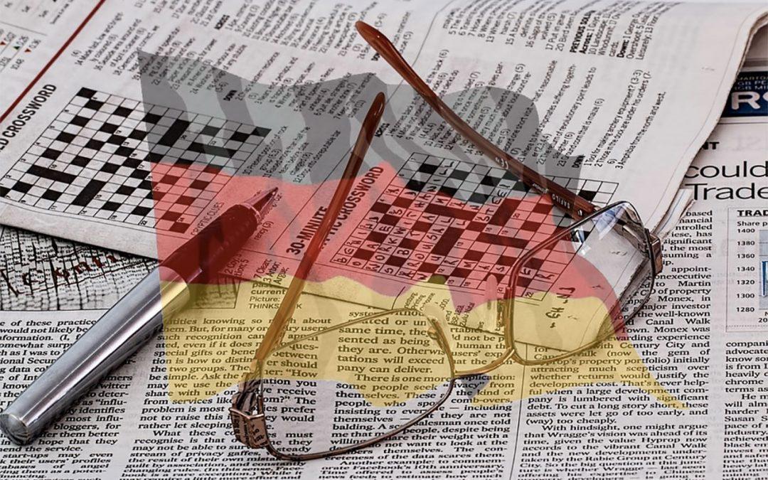 Comment apprendre le vocabulaire allemand en faisant des mots croisés